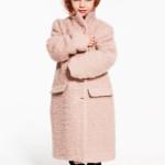MSGM - Cappotto da bambina in rosa cipria