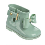 Mini Melissa - Sugar Rain Bow, stivaletto da pioggia in verde pastello
