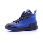 Naturino - Sneaker da bimbo in pelle blu con punta in gomma