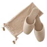 Morbide pantofole in cashmere di Frette
