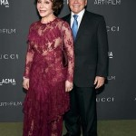 LOS ANGELES, CA - OCTOBER 29:  LACMA Trustee Lynda Resnick (L) and Stewart Resnick attend the 2016 LACMA Art + Film Gala honoring Robert Irwin and Kathryn Bigelow presented by Gucci at LACMA on October 29, 2016 in Los Angeles, California.  (Photo by Frazer Harrison/Getty Images for LACMA)