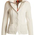 Giacca in misto lana merino a coste con collo imbottito di Parajumpers.