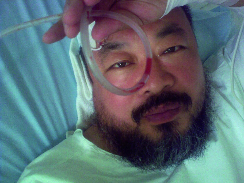"Ai Weiwei, ""[Untitled - Hospital selfie]"", 2009, courtesy of Ai Weiwei Studio, © Ai Weiwei."