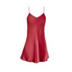 Sensuale camicia da notte in seta rossa di Christies
