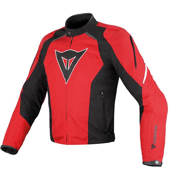 Dainese - Laguna Seca Tex è la giacca da moto in tessuto tecnico, ergonomica, sicura e confortevole.