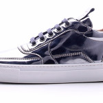 Sneaker in pelle specchiata di MDV Mariano Di Vaio.