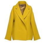 Giacca gialla color girasole di Antonelli Firenze