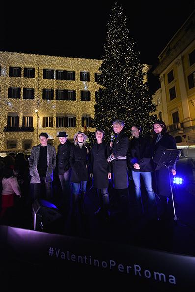 Valentino Christmas Tree Lighting – Rome, December 1st, 2016 (1)