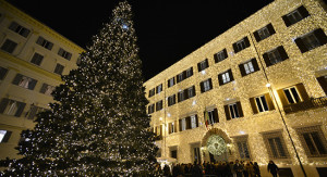 Valentino Christmas Tree Lighting – Rome, December 1st, 2016 (2)