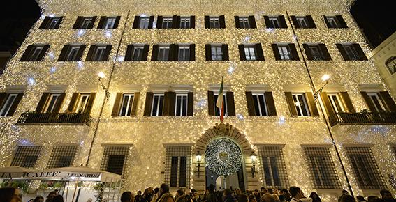 Valentino Christmas Tree Lighting – Rome, December 1st, 2016 (3)