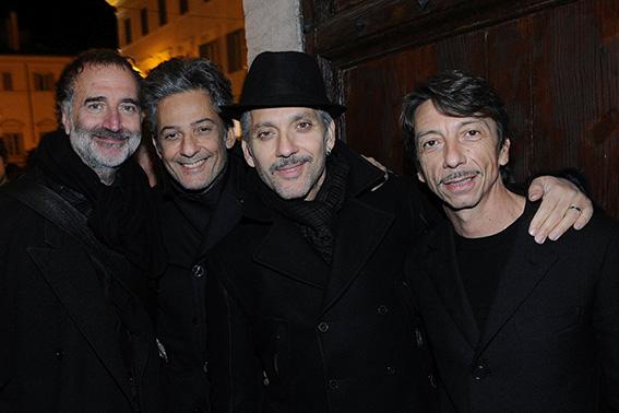 Fabrizio Ferri;Rosario Fiorello;Beppe Fiorello;Pierpaolo Piccioli
