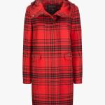 W'S Emilty Coat di Woolrich John Rich & Bros.: cappotto in lana con cappuccio, tasche applicate e chiusura frontale con bottoni nascosti. L'imbottitura è in Termore evodown.
