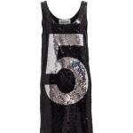 T-shirt/vestito glitterato di 5PREVIEW