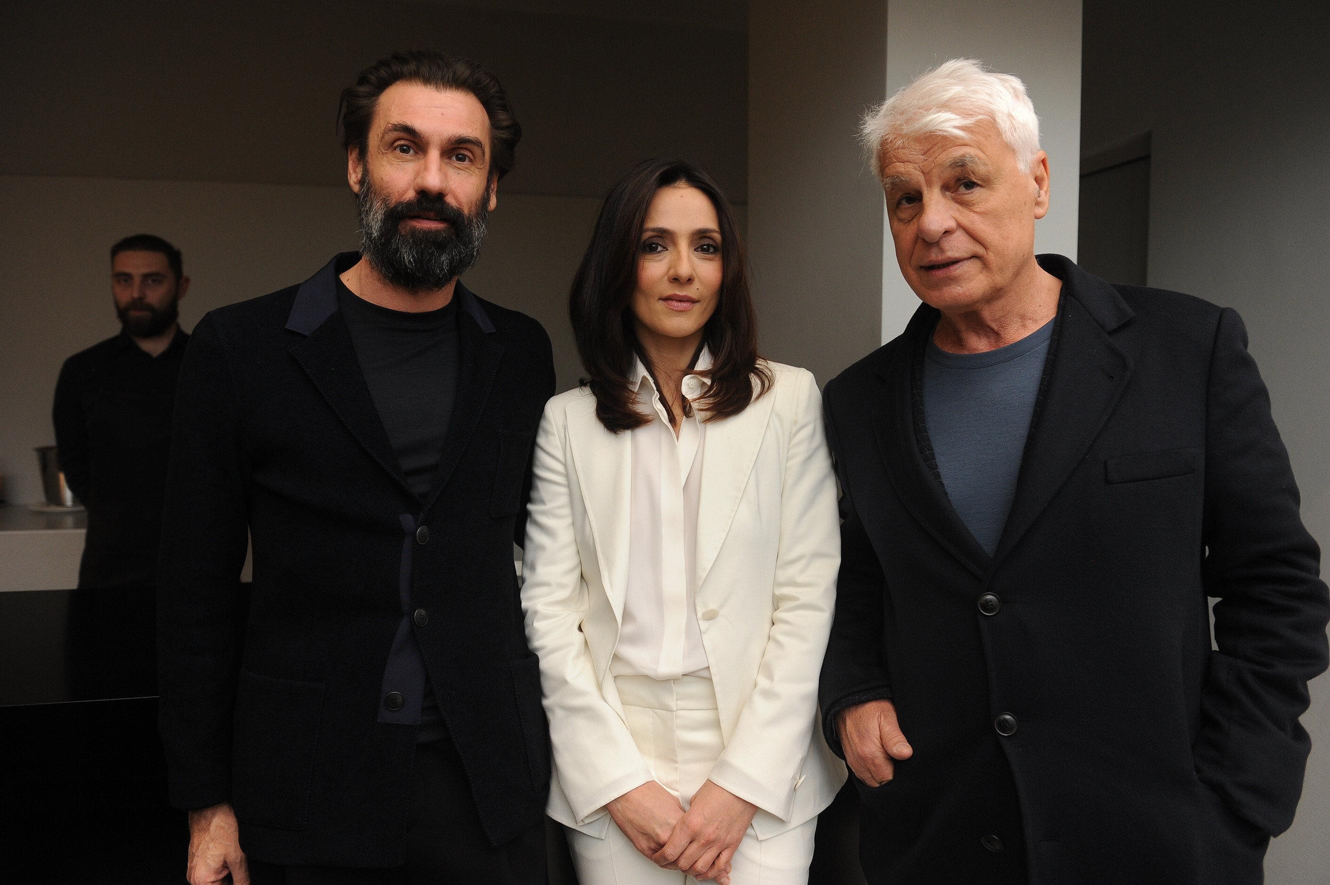 FABRIZIO GIFUNI, AMBRA ANGIOLINI E MICHELE PLACIDO - SGP