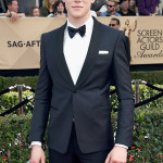 LOS ANGELES, CA - JANUARY 29:  Actor George MacKay attends The 23rd Annual Screen Actors Guild Awards at The Shrine Auditorium on January 29, 2017 in Los Angeles, California. (Photo by Frazer Harrison/Getty Images)