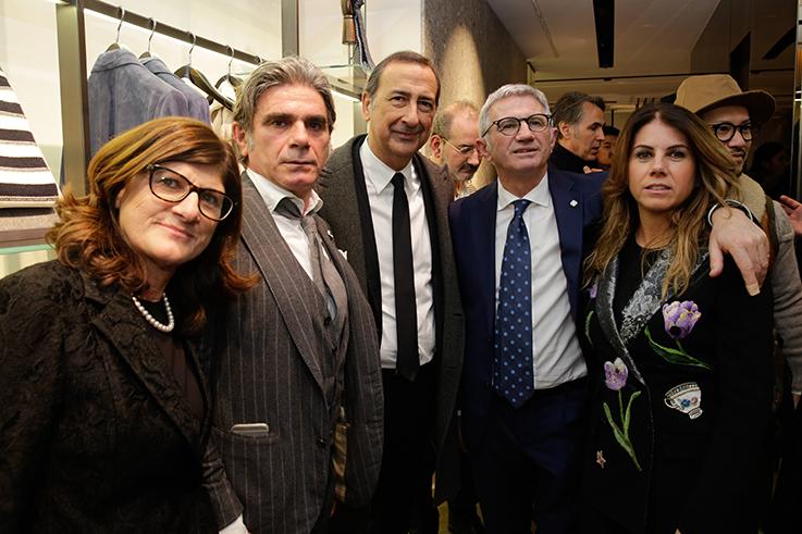Giuseppe Sala_Lorena, Luigi, Andrea e Annarita Lardini