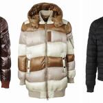 """""""Pure Quality of Design"""" è lo slogan attorno a cui si sviluppa la nuova collezione uomo di Tatras. I tre modelli identificativi sono il bomber militare di pelle in 100% nylon giapponese ispirato alle giacche da aviatore A-2, il piumino oversize 100% nylon giapponese patchwork dall'effetto """"desert camouflage"""" pensato per le giornate più fredde, e il piumino riders inspired 100% lana con bottoni e zip a telaio."""