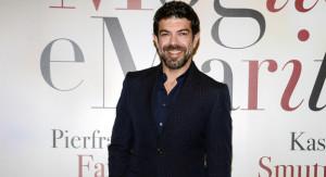"""Milano, Premiere del film """"Moglie e marito"""" nella foto :  Pierfrancesco Favino"""