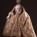 Abito femminile manifattura italiana,  1750-1770. Firenze, Museo della Moda e del Costume Gallerie degli Uffizi