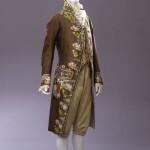 Abito maschile, manifattura veneziana, fine XVIII – inizio XIX sec. Firenze, Museo della Moda e del Costume Gallerie degli Uffizi.
