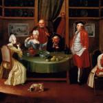 Scena conviviale Giuseppe Bonito, sex. XVIII, seconda metà olio su tela. Firenze, Collezione Giovanni Pratesi