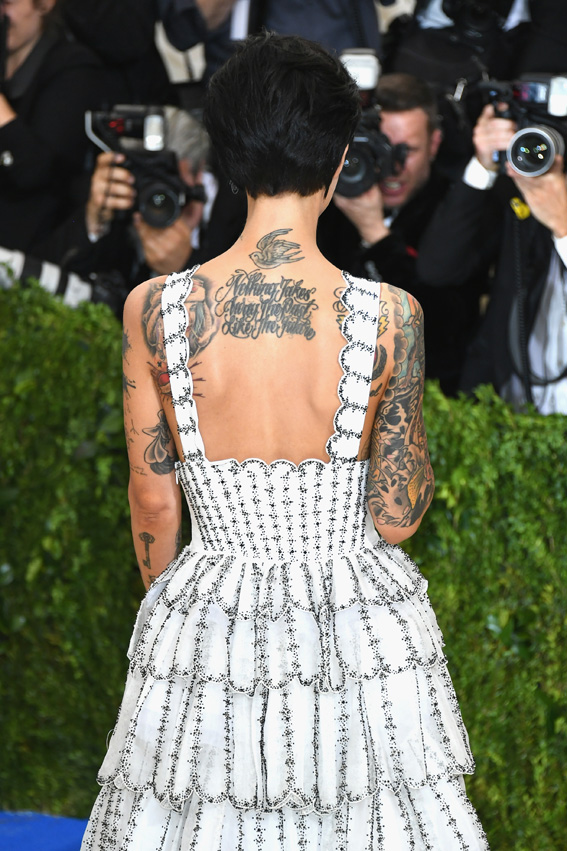 "NEW YORK, NY - MAY 01: Ruby Rose attends the ""Rei Kawakubo/Comme des Garcons: Art Of The In-Between"" Costume Institute Gala at Metropolitan Museum of Art on May 1, 2017 in New York City. (Photo by Dia Dipasupil/Getty Images For Entertainment Weekly)"