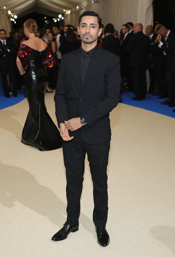 "NEW YORK, NY - MAY 01: Riz Ahmed attends the ""Rei Kawakubo/Comme des Garcons: Art Of The In-Between"" Costume Institute Gala at Metropolitan Museum of Art on May 1, 2017 in New York City. (Photo by Neilson Barnard/Getty Images)"