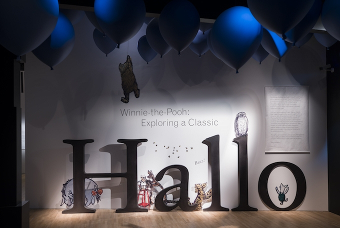 All exhibition images, © Victoria & Albert Museum. Winnie the Pooh: Exploring a Classic, with support from the Unwin Charitable Trust.
