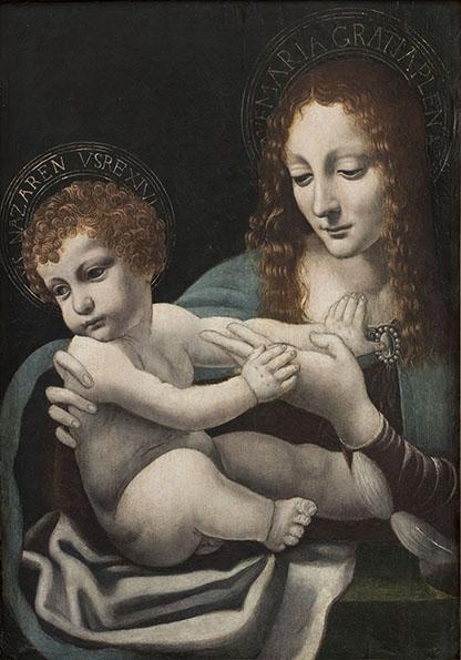 10-torino-pinacoteca-sabauda-collezione-gualino_scuola-lombarda_madonna-con-il-bambino