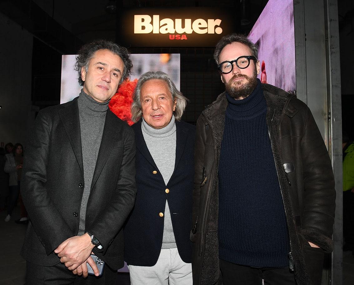 Felice Limosani, Enzo Fusco e James Mollison